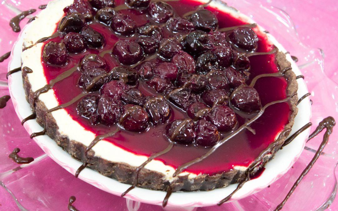 Black Forest Cheesecake Tart
