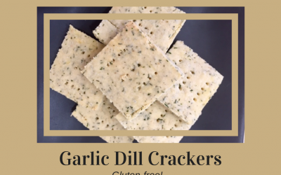 Garlic Dill Crackers