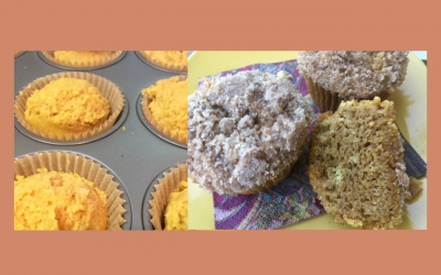Wheat Free Pumpkin Muffins with Streusel topping