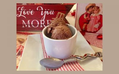 Chocolate Coconut Ice Cream