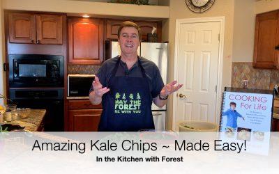 World's Best Kale Chip Recipe!